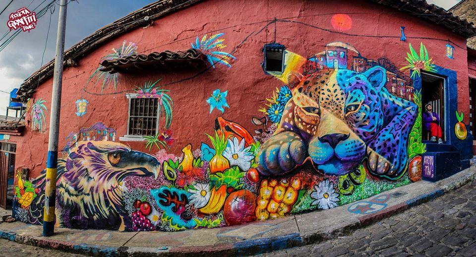 Resultado de imagen para graffitis bogota