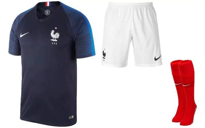 4e05761318dd8 Camisetas del Mundial Rusia 2018 Francia
