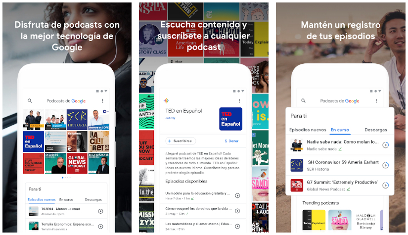 Aplicaciones para descargar podcasts en Android 2018