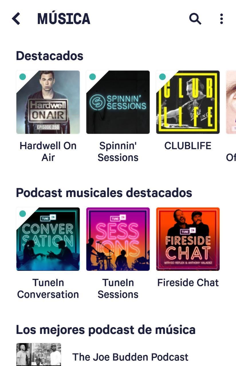 Aplicaciones para escuchar podcasts en Android 2018