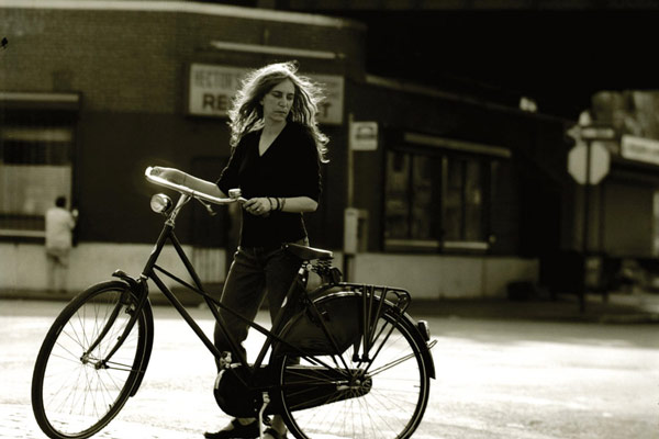 Escritores y bicicleta - Patti Smith