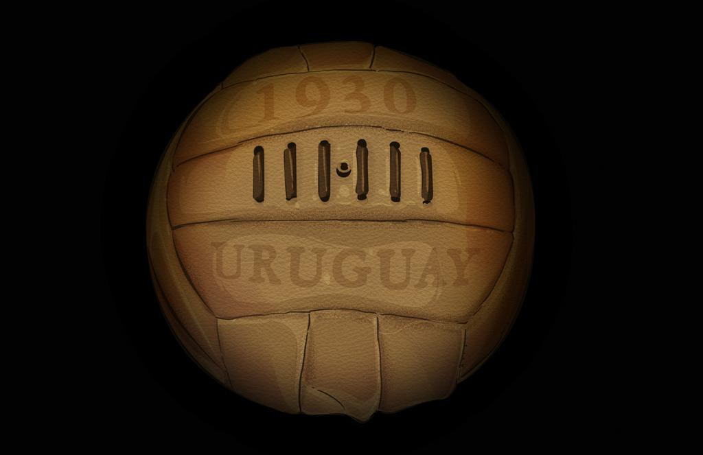 La evolución de los balones de los Mundiales desde 1930 hasta 2018 36f7a1184b5b8