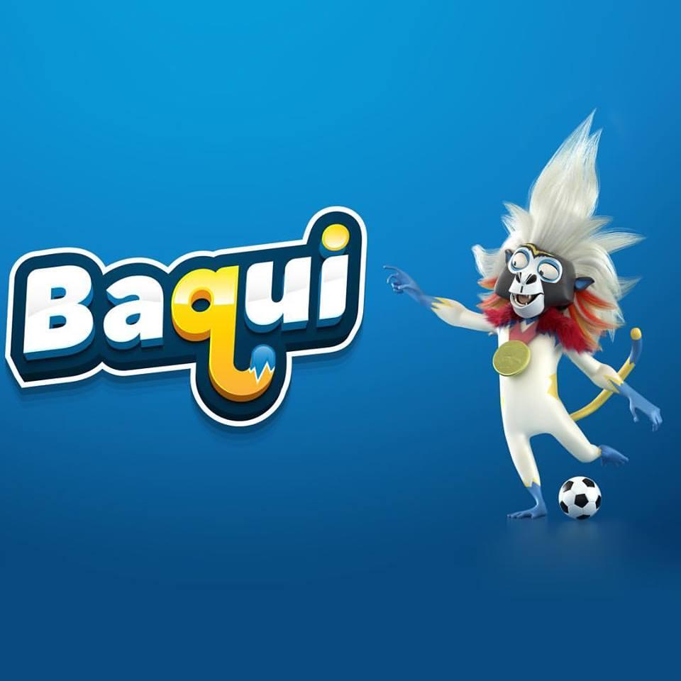 Baqui, anfitrión mascota de los Juegos Centroamericanos y del Caribe Barranquilla 2018