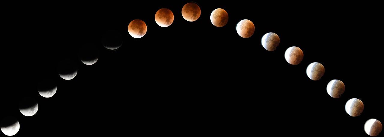 ¿Qué pasa cuando la luna se pone roja?