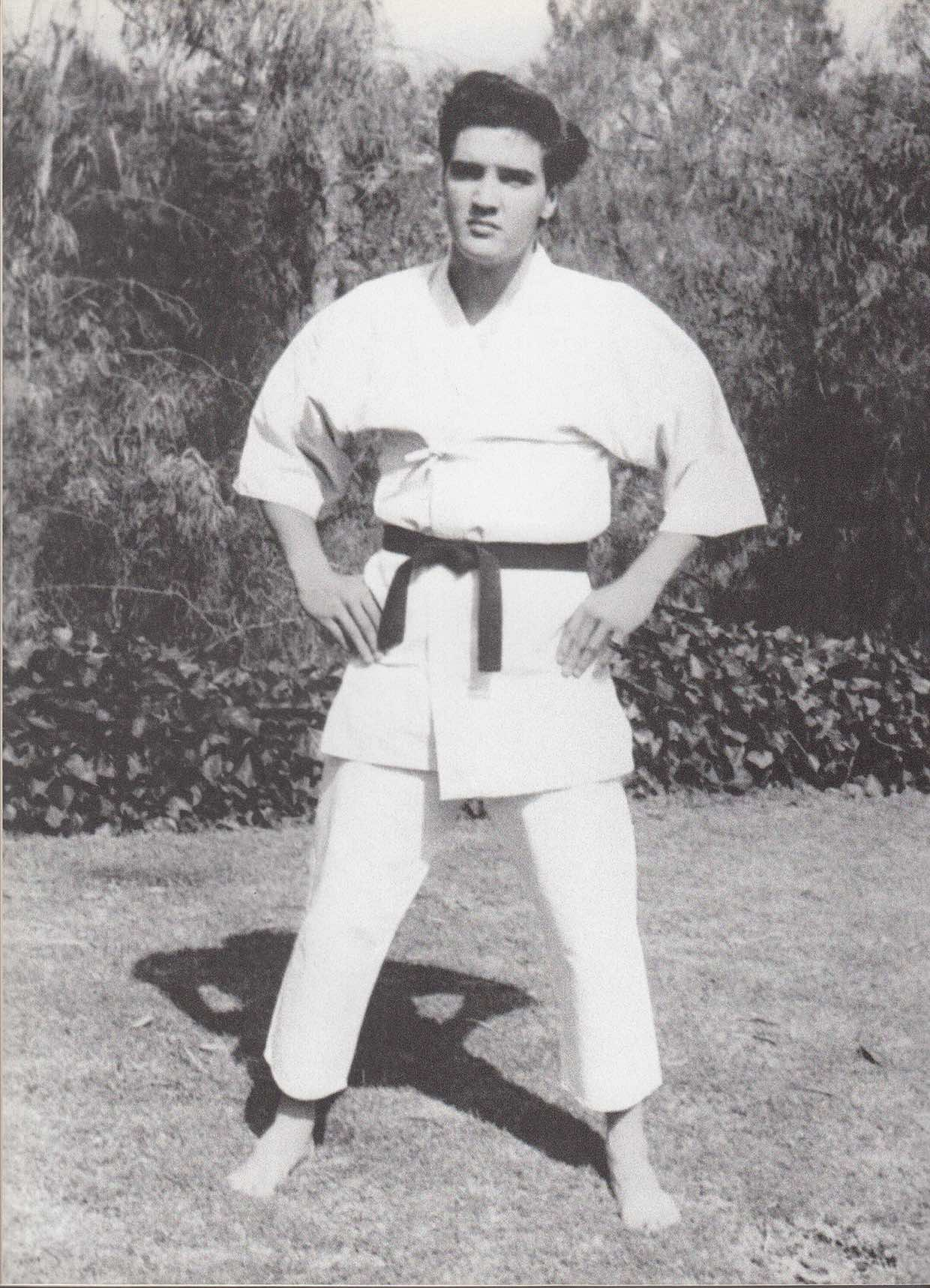 Elvis Presley Karate
