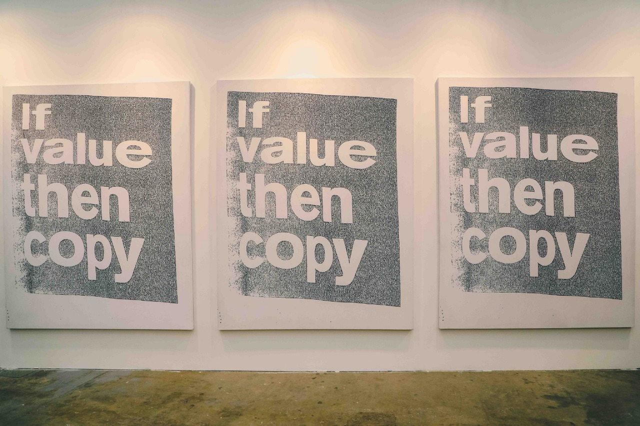 If Value, Then Copy, 2017. SUPERFLEX. ARTBO 2017.