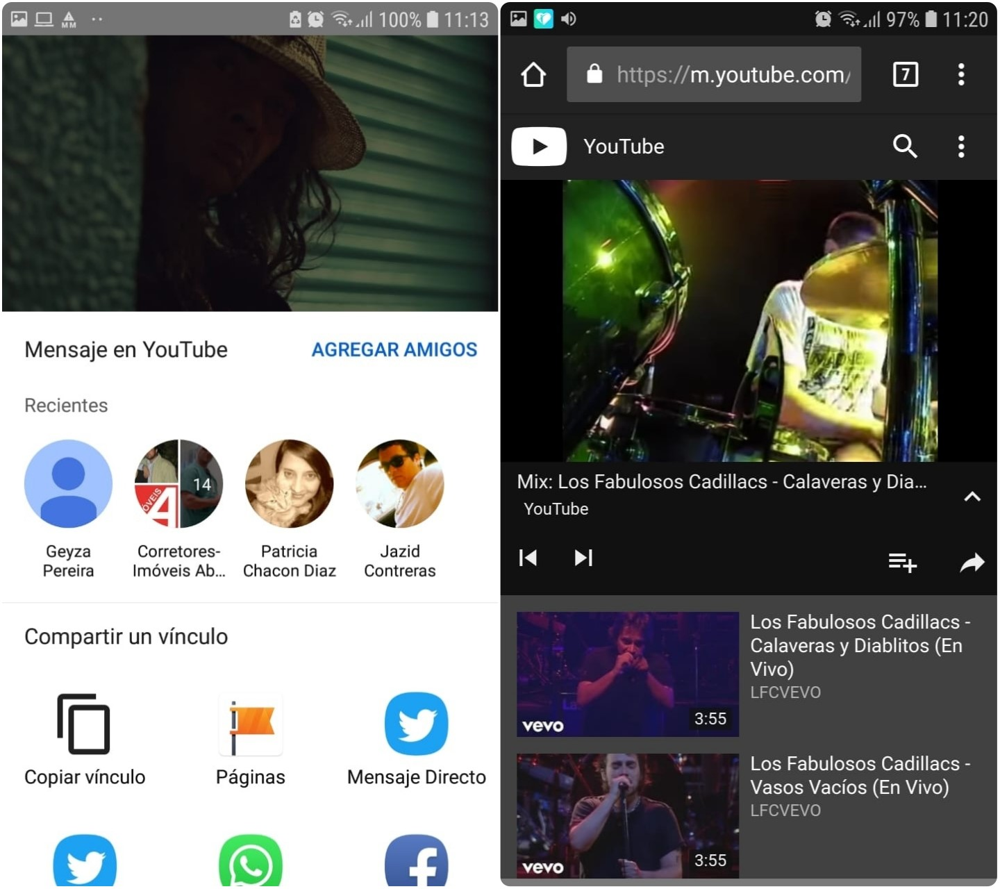 Escuchar videos de YouTube pantala apagada