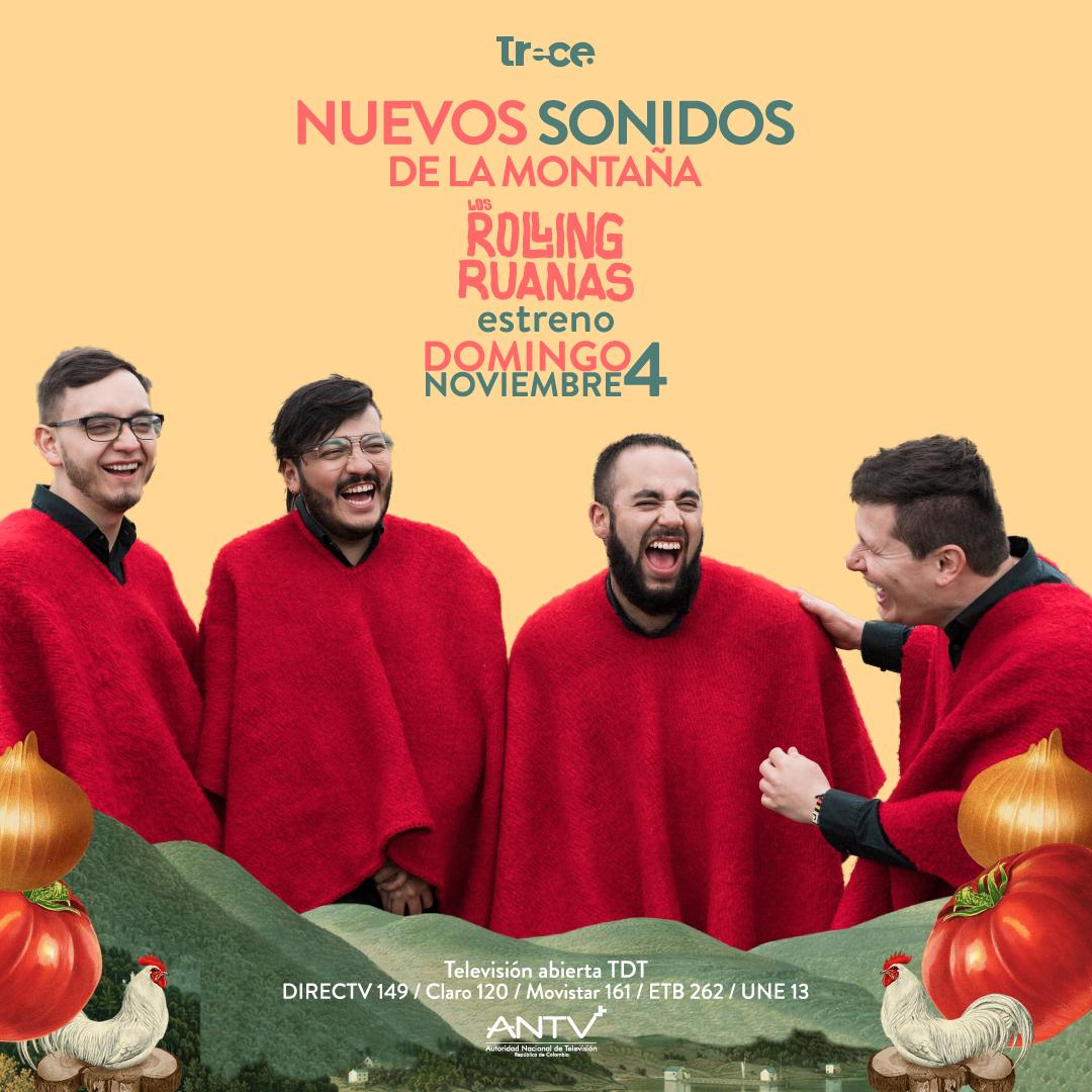 Los Rolling Ruanas, nuevos sonidos de la montaña