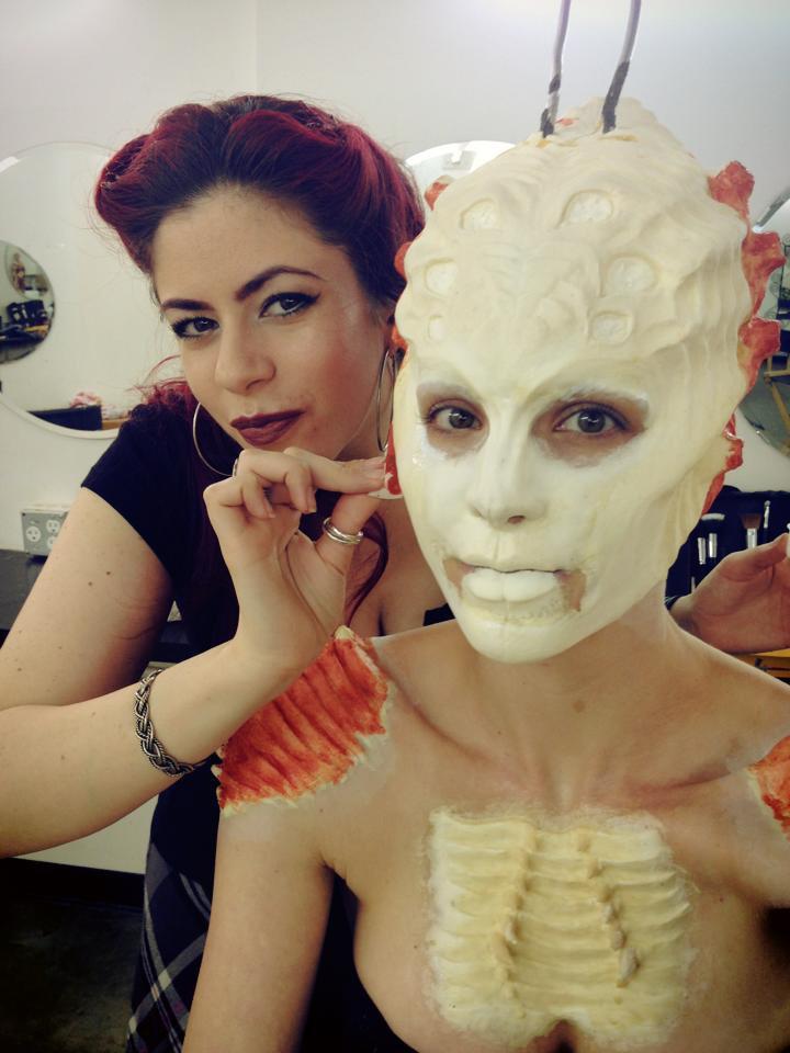 bef7eae7149 Melissa Jiménez, la colombiana que maquilla a los zombies en 'The ...