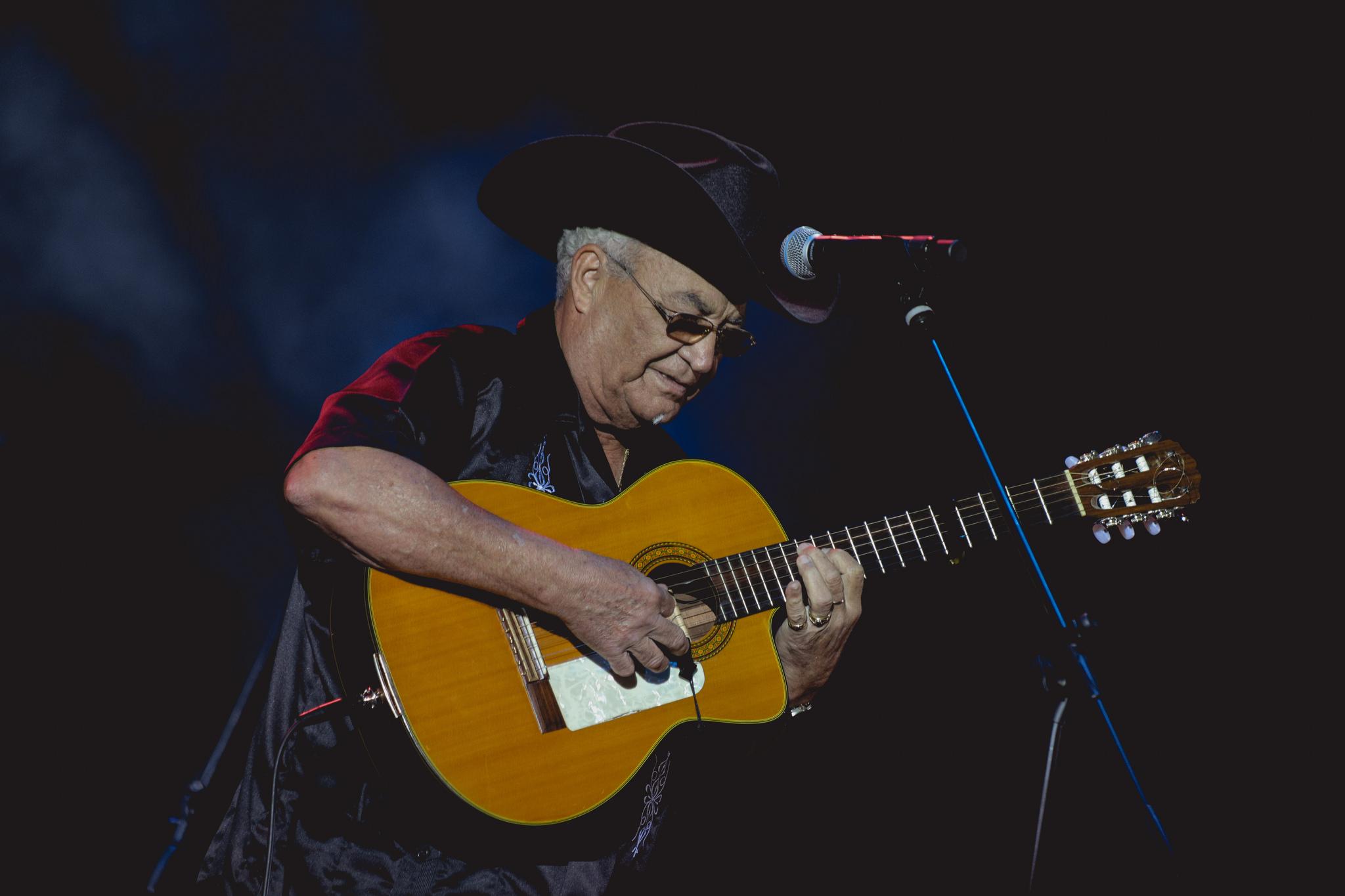 Eliades Ochoa en Salsa al Parque 2018.