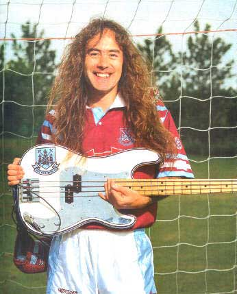 Steve Harris hincha del West Ham United
