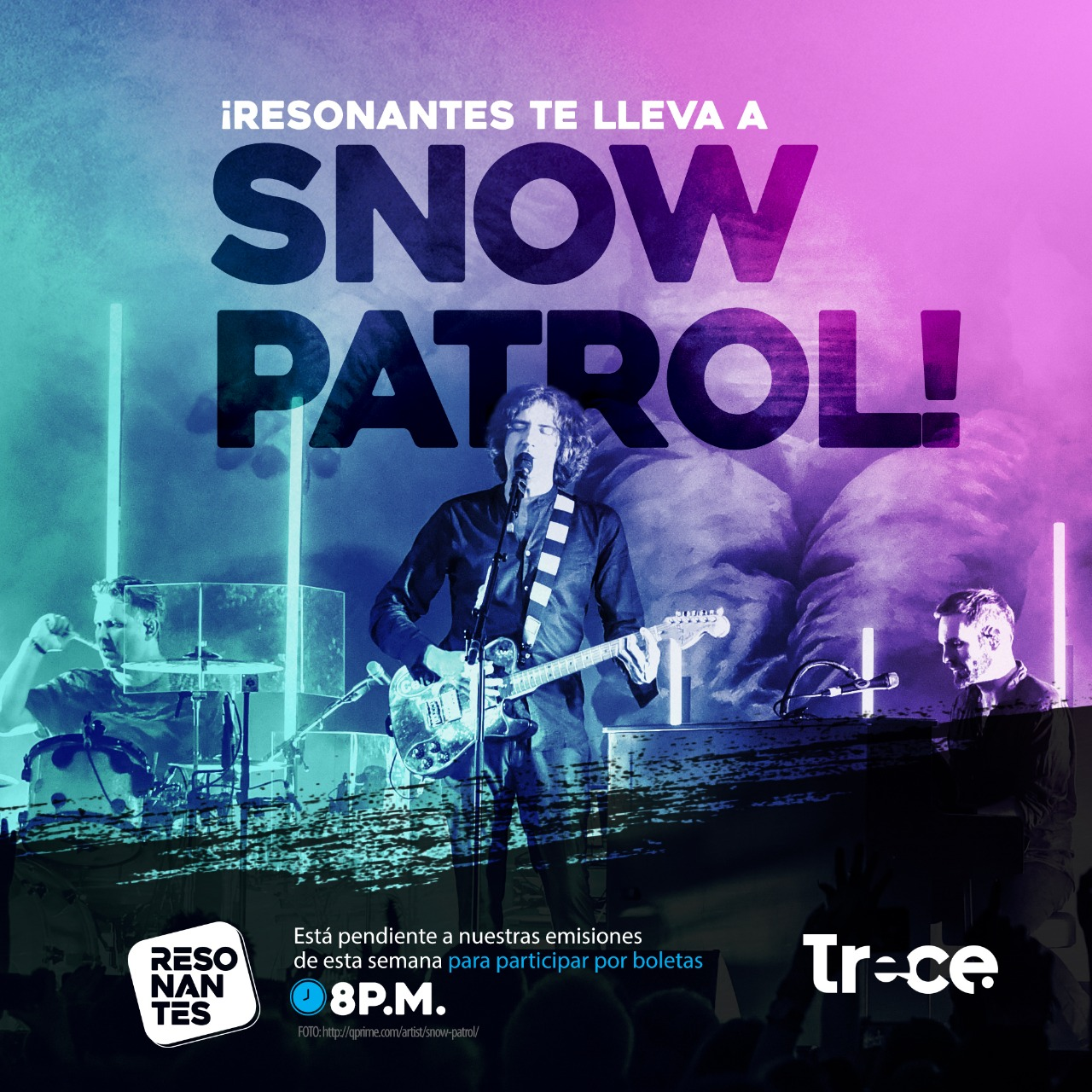 Resonantes te lleva a Snow Patrol.