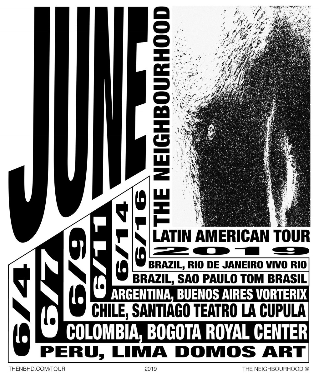 The Neighbourhood llega a Colombia.