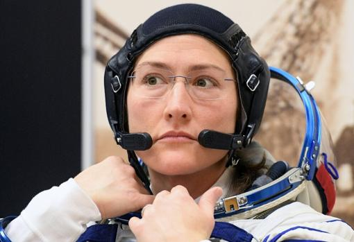 Christina Koch. Foto: NASA.
