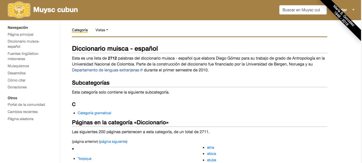 glosario indígena colombiano