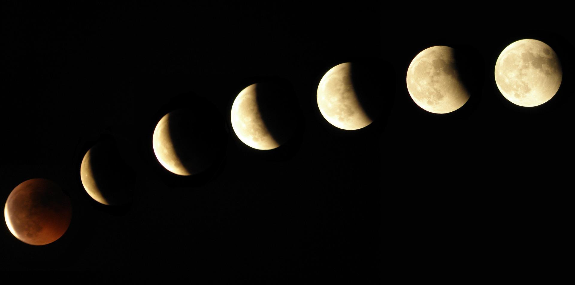 Calendario lunar 2019: las fases de la luna mes a mes
